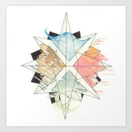 C.O.M.P.A.S.S. No. 9 Art Print