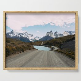 Torres del Paine Serving Tray