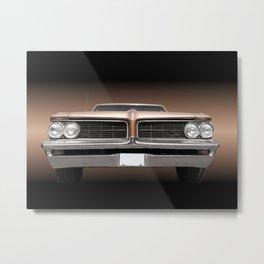 US American classic car 1964 Le Mans Metal Print