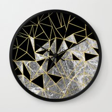 Marble Ab Wall Clock