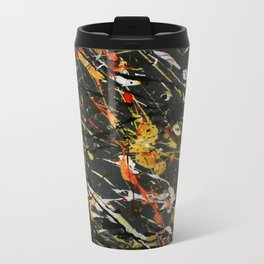 Jackson Pollock Interpretation 2017 Metal Travel Mug