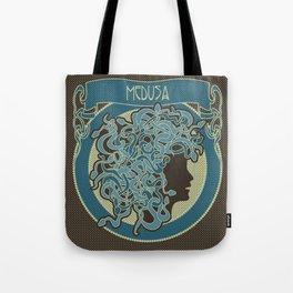 medusa silhouette (dark) Tote Bag