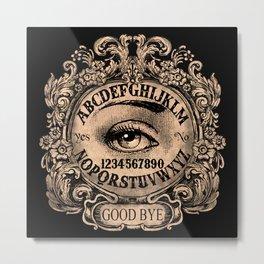 Mystic Eye Ouija Metal Print