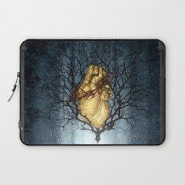Golden Heart Laptop Sleeve