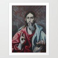 The Procrastinator (after El Greco) Art Print