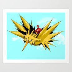 Flash-Dos Art Print