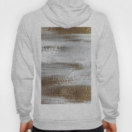 Metallic Abstract Painting 3 #texture #minimalism Hoody