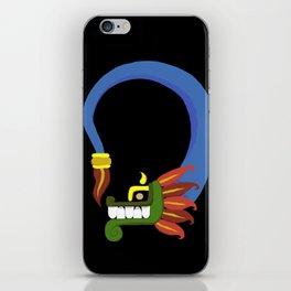 Toon Quetzalcoatl iPhone Skin