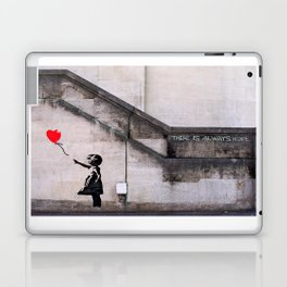 Banksy, Hope Laptop & iPad Skin
