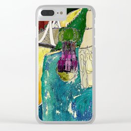 Tourism of the future Clear iPhone Case