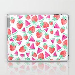 Watermelon + Strawberry Laptop & iPad Skin