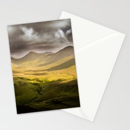 Up To The Mountains Stationery Cards