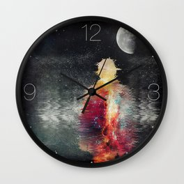 We are nothing but stardust Wall Clock