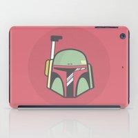 boba fett iPad Cases featuring Boba Fett by CaseyIllustrates