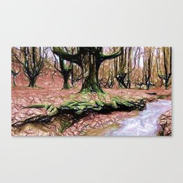 Whispers Among Trees Canvas Print