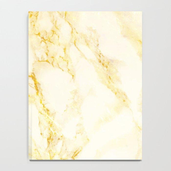 Golden Marble #society6 #decor #lifestyle #fashion Notebook