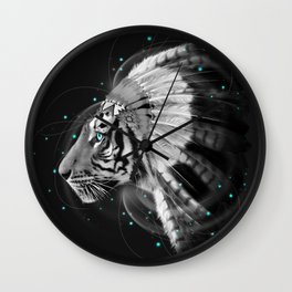 Don't Define the World (Chief of Dreams: Tiger ) Tribe Series Wall Clock