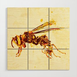 Hornet Wood Wall Art