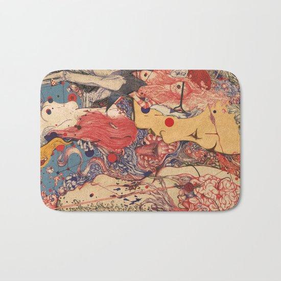 Release color Bath Mat