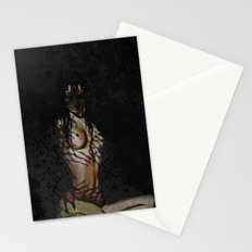 Untamed (woman with tiger features)  Stationery Cards