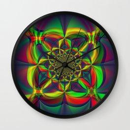 Kaliedoscope of Color Wall Clock