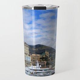 Monaco from the bateau bus Travel Mug