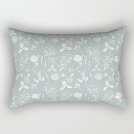 Plant Therapy Pond Blue Rectangular Pillow
