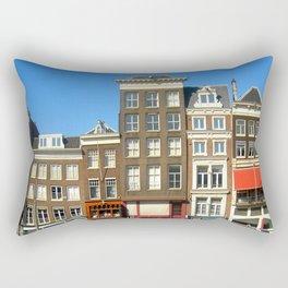 Line Up in Amsterdam. Rectangular Pillow