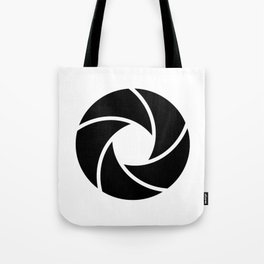 Camera Lense Tote Bag
