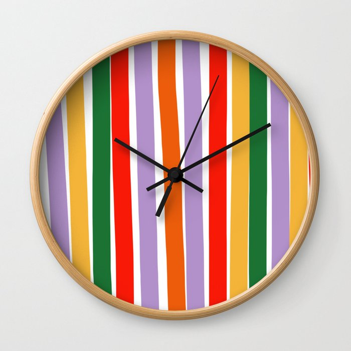 J'y arrive-Getting there- to the sky Wall Clock