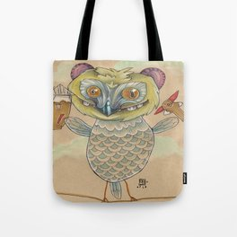 GINGERBREAD BIRD Tote Bag