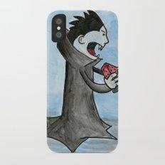 Vampire Eating a Watermelon Slim Case iPhone X