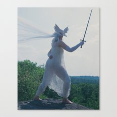 The Daughter of Swords Canvas Print