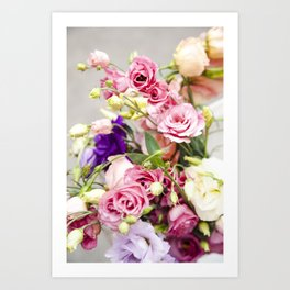 Floral I  /  The Fresh Flower Collection Art Print