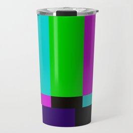 TV bars color testTV bars color test Travel Mug