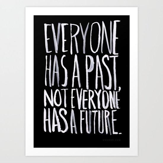 Past/Future Art Print