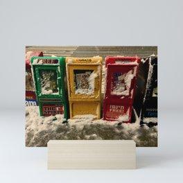Early Winter Snow Mini Art Print