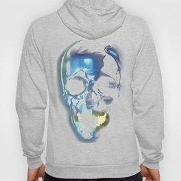 Metallic skull Hoody