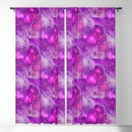 Crystal Gazing Flame Fractal Blackout Curtain