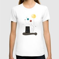 planet T-shirts featuring Planet by Jane Mathieu