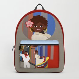 Colombian dance Backpack