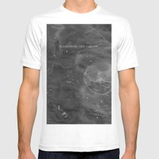 Underneath The Floor, It Will Stay Mens Fitted Tee White MEDIUM