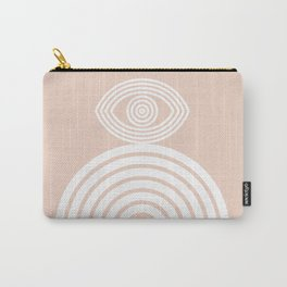 Abstraction_EYE_LINES_Minimalism_001 Carry-All Pouch
