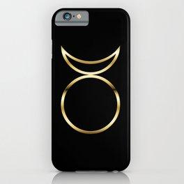 Horned God Symbol iPhone Case