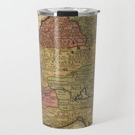 Vintage Map of West Africa (1742) Travel Mug