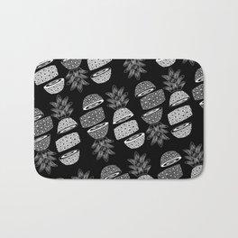 Pineapples (Dark/Sliced) Bath Mat