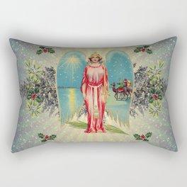 Christmas Angel Rectangular Pillow