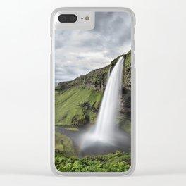 Seljalandsfoss Clear iPhone Case