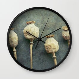 September Frost Wall Clock
