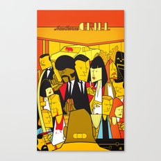 Pulp Fiction (variant aspect ratio) Canvas Print